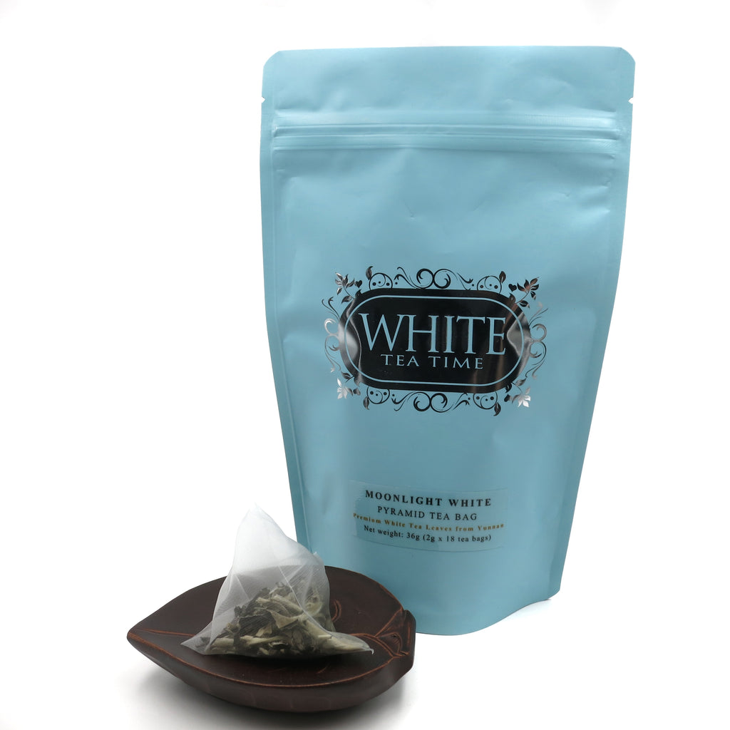 Moonlight White (Pyramid Tea Bag in Pouch)
