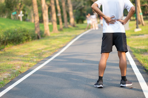 Walking to help back pain