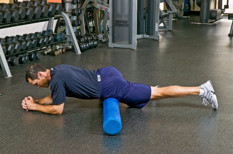 Foam Roller Exercises Hip Flexor