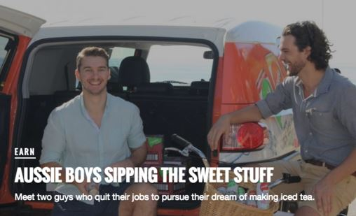 The Hip Pocket: Aussie Boys Sipping the Sweet Stuff