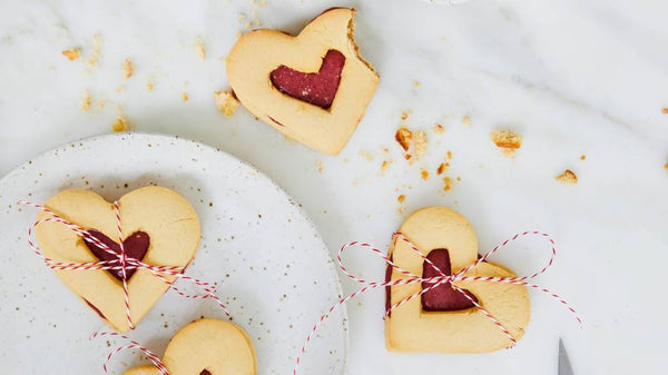Valentine's Day Cookies you'll never know are sugar-free!