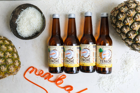 Nexba coconut and pineapple tepache