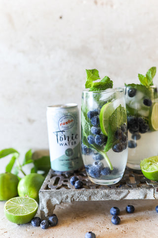Blueberry Nexba Gin and Tonic