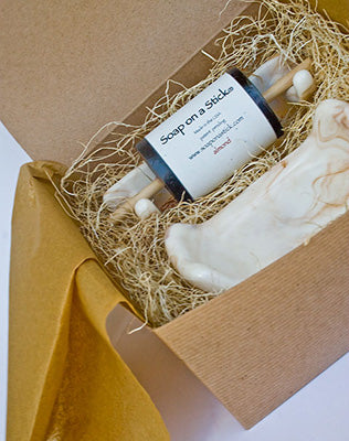 Soap on a Stick Gift Box
