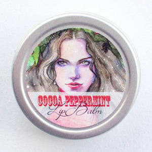 Winter Goddess Cocoa Peppermint Lip Balm