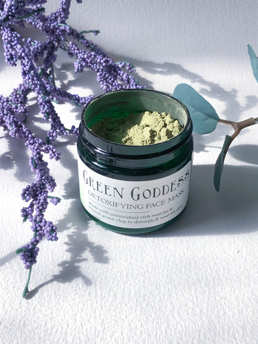 Green Goddess Detoxifying Face Mask