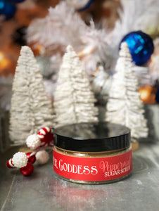 Winter Goddess Peppermint Sugar Scrub