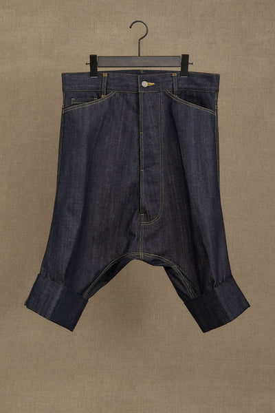 Trousers 19381B- Cotton100% Denim- Indigo