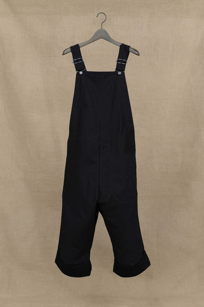 Overall 266- Cotton Back Satin- Black