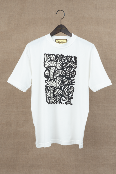 Printed Tshirt- Painting Series 01- White