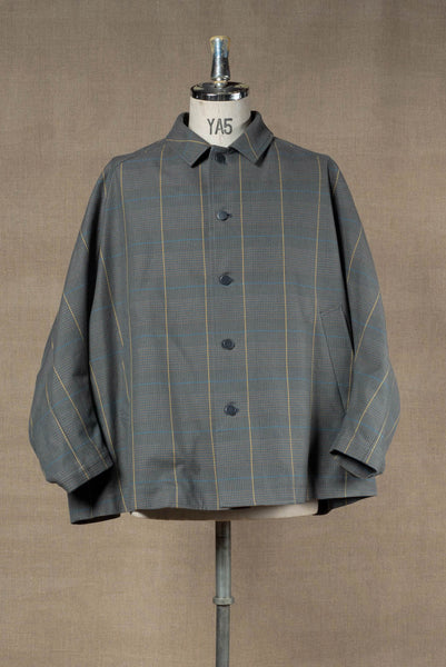 Jacket 19236- Cotton100% Original Check SS20- Turquoise