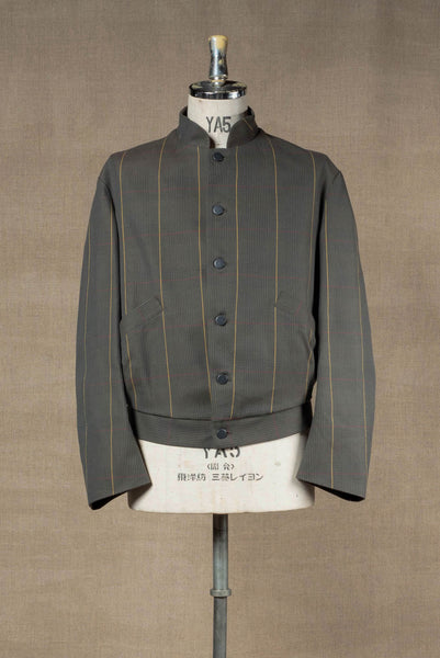 Jacket 3745- 20SS- Cotton100% Original Check SS20- Moss Green