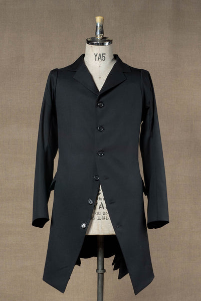 Jacket 17451- Wool100% Serge- Black