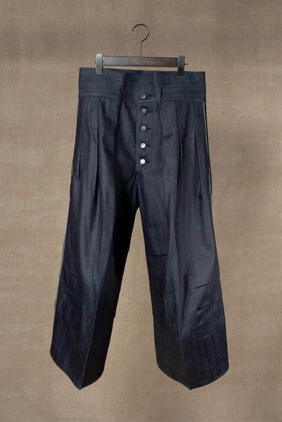 Trousers 20- 20SS- Cotton% Denim Red Selvedge- Indigo