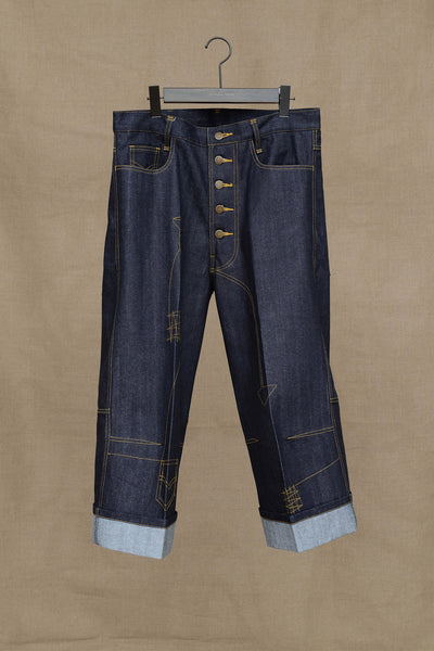 Christopher Nemeth Online Store Products- TR 215- Denim