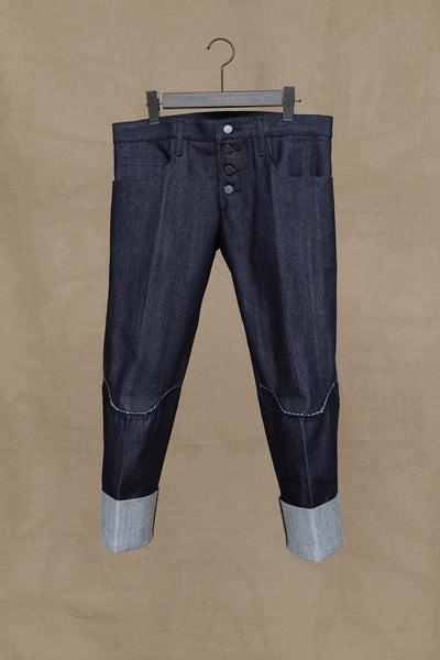 Christopher Nemeth Online Store Products- TR 181- Denim- Black Stitch