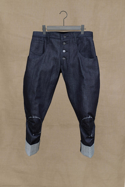 Christopher Nemeth Online Store Products- TR 2042- Denim- Black Stitch