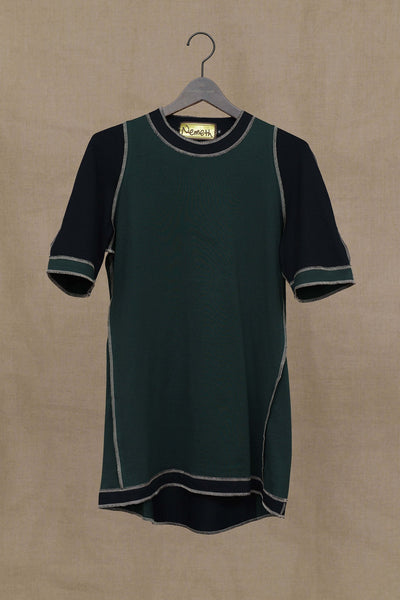 Christopher Nemeth Online Store Products- Tshirt 95B- Green/Black