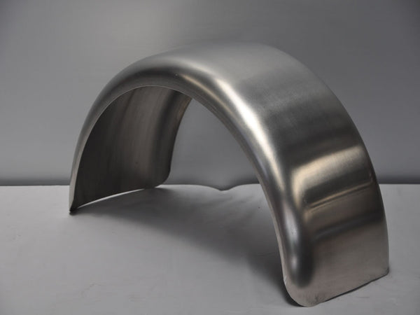 Trailer Fenders With Backing Plate : Dr rta quot by round top single axle smooth