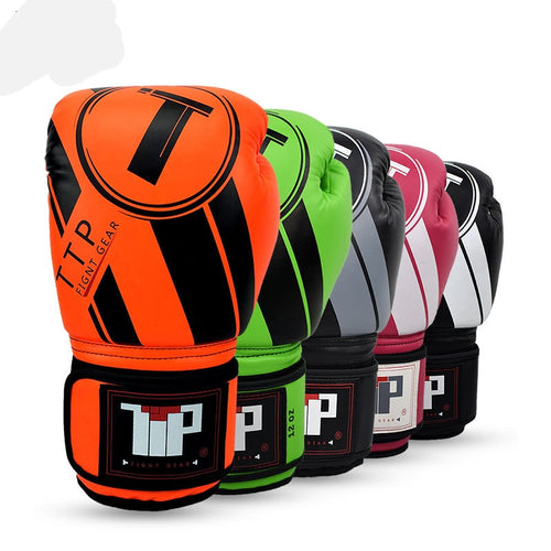 10-14oz Colorful TTP Boxing Gloves
