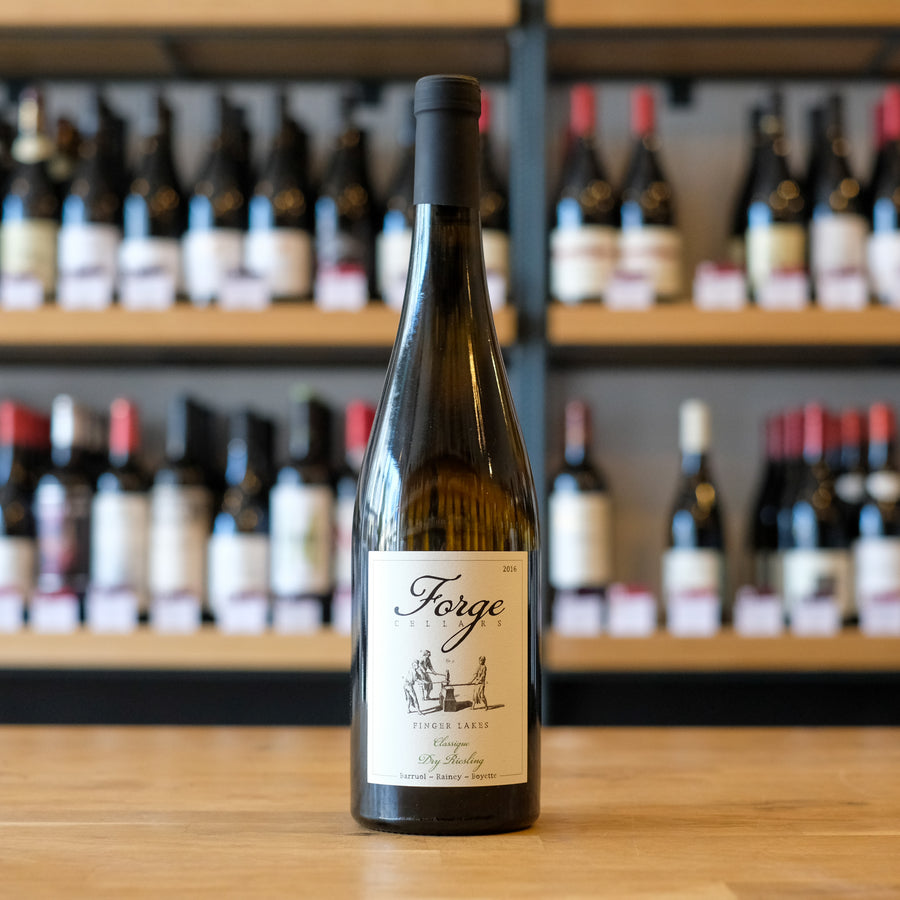 Forge Cellars, Riesling, Finger Lakes, New York, 2017