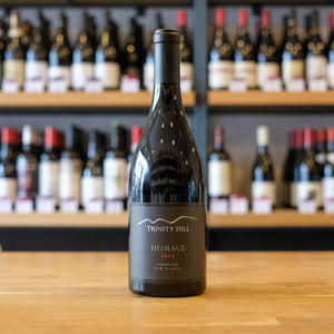 `Homage` Gimblett Gravels Syrah, Trinity Hill, Hawkes Bay, New Zealand, 2014