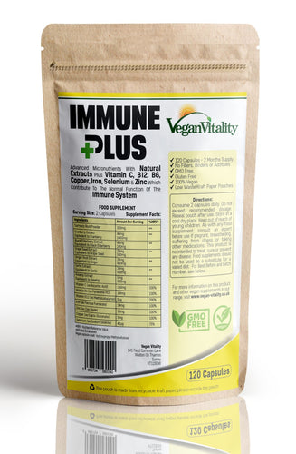 Immune Plus - Vitamins For Immune System