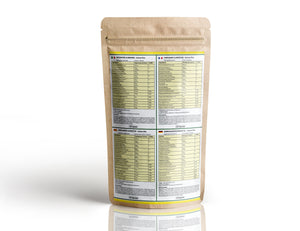 Immune Plus Nutrition Facts Label