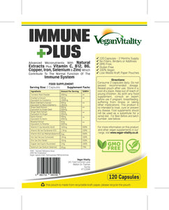 Immune Plus with 120 capsules