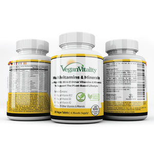 vegan vitamins and minerals