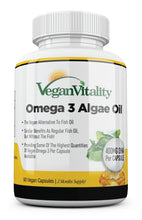 Load image into Gallery viewer, Omega 3 Algae Oil