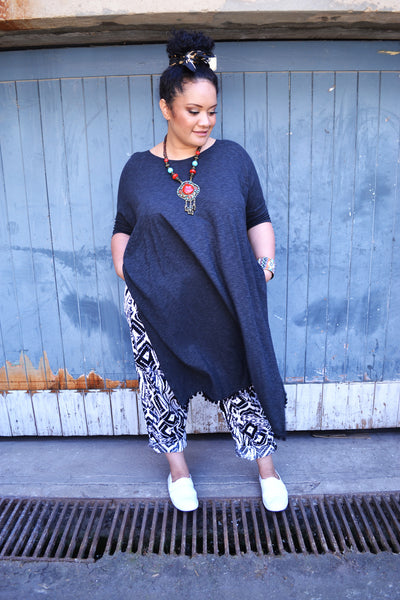 Black Summer Kaftan