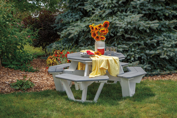 Casual Comfort Octagon Picnic Table  CC-OCT46