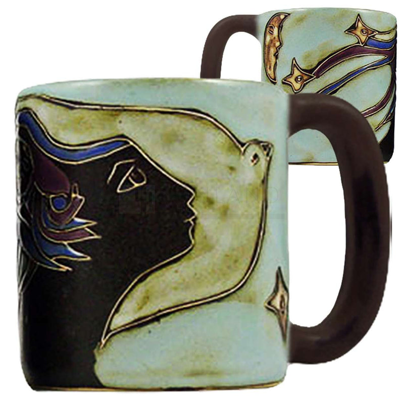 Mara Round Mug 16 oz - Woman & Dove - 5102K