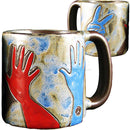 Mara Round Mug 16 oz - Peace Sign  -  510E1