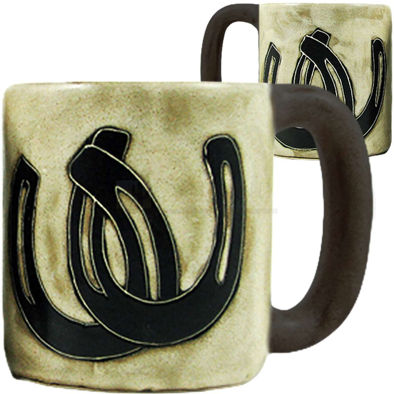 Mara Round Mug 16 oz Horseshoes  510Q9