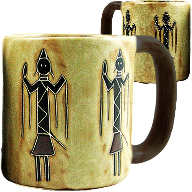 Mara Round Mug 16 oz Yei Indian 510U4