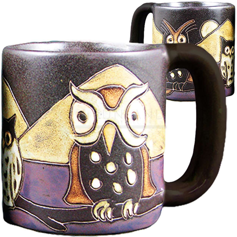 Mara Round Mug 16 oz - Night Owls  510V5