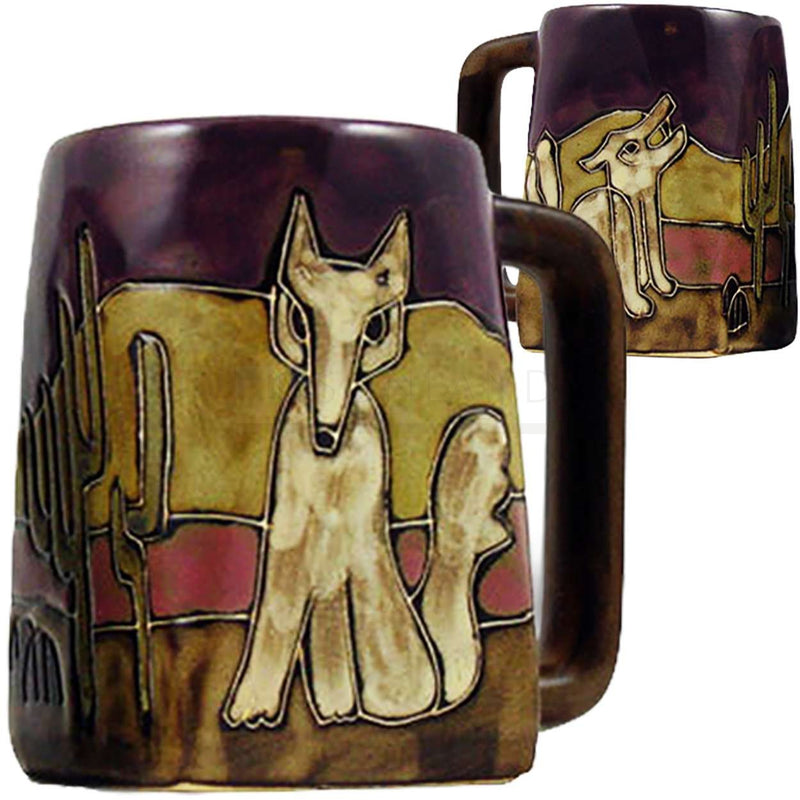 Mara Square Bottom Mug 12 oz - Coyote   511S6