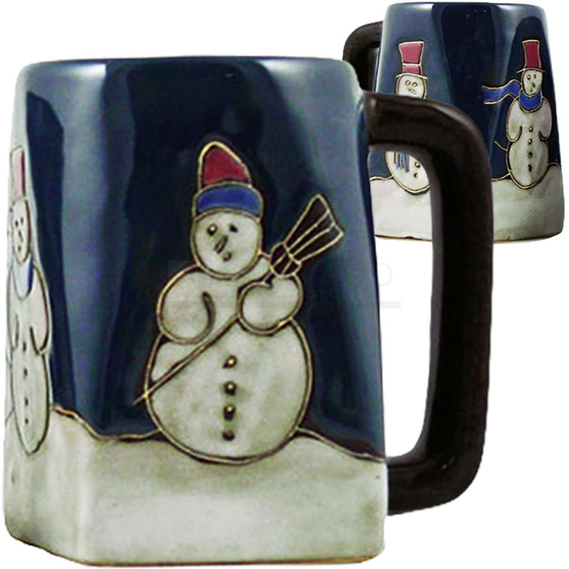 Mara Square Bottom Mug 12 oz - Snowman   511X1