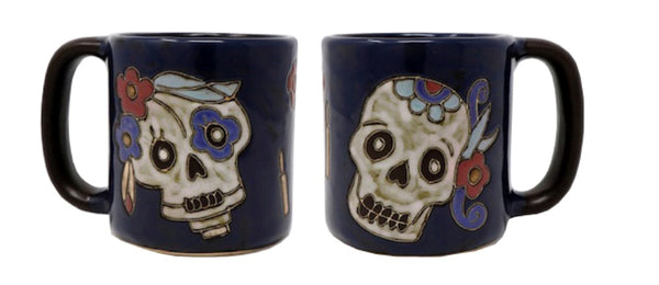 Mara Round Mug  16 oz  - Day of the Dead  610A5