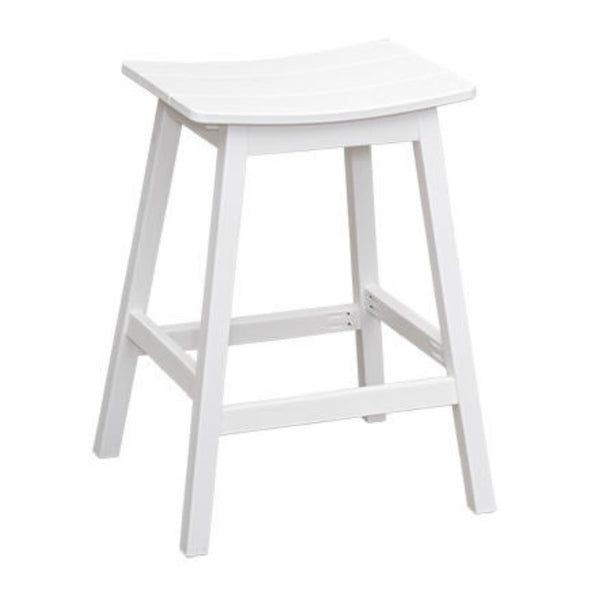 Casual Comfort Saddle Stool - Bar Height  CC-6646