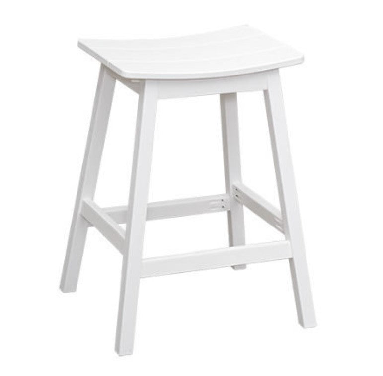 Casual Comfort Saddle Stool - Counter Height  CC-6646C