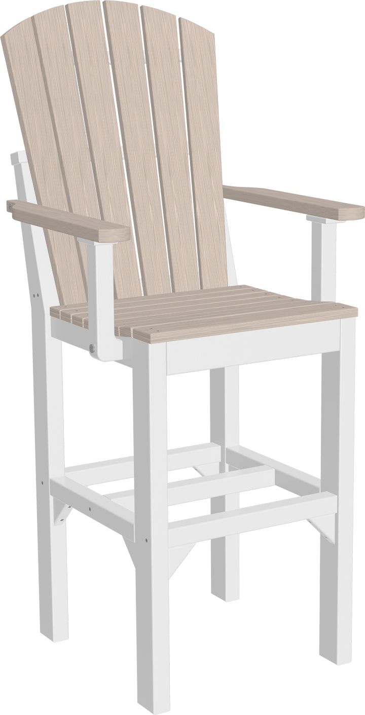 LuxCraft  Adirondack Arm Chair - Bar  (AAC-B)  Set of 2 Chairs