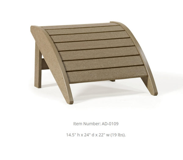 Breezesta Leisure Adirondack Footrest AD-0109