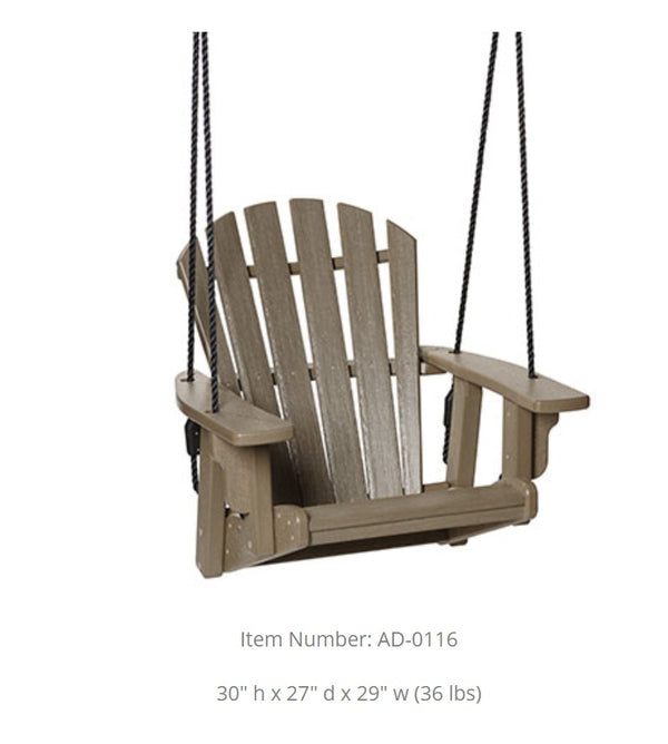 Breezesta Coastal Single Swinging Bench AD-0116