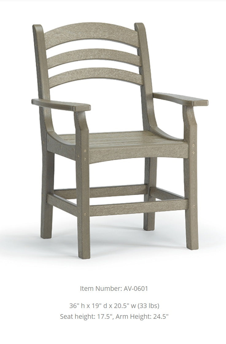 Breezesta  Avanti Captain's Dining Chair  AV-0601