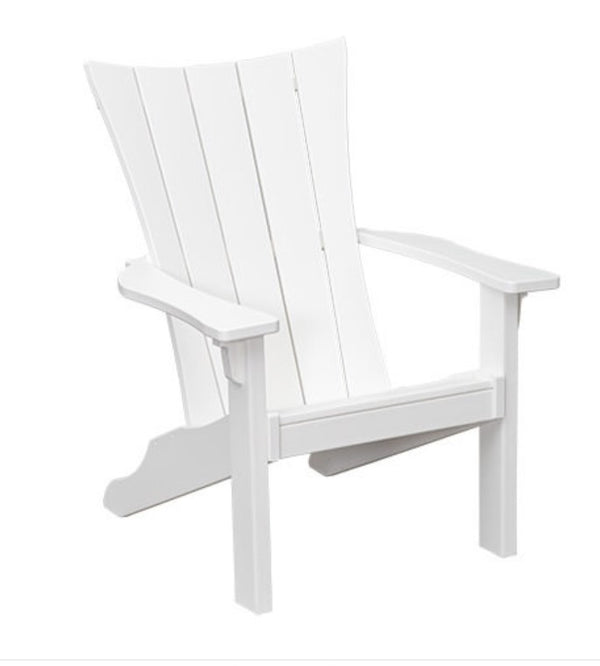 Wavz Adirondack Chair with Pullout Ottoman  CC-5045