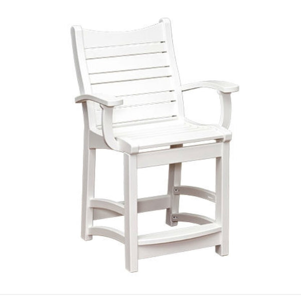 Casual Comfort Bayshore  Counter Chair with Arms CC-6510CA