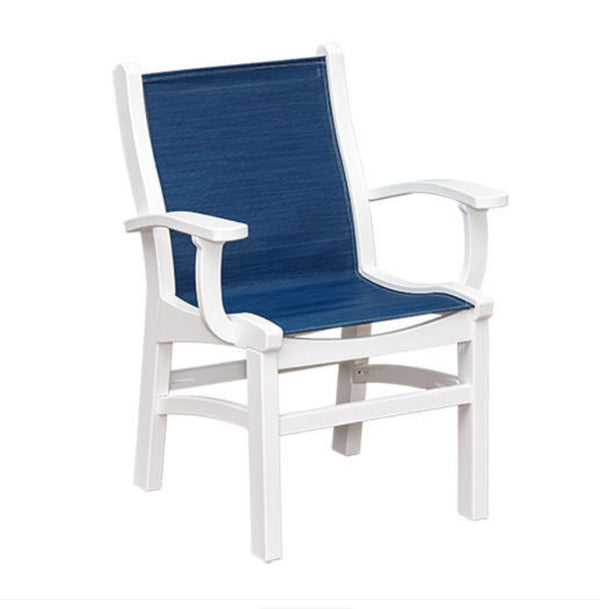Casual Comfort Bayshore Dining Sling Chair with Arms  CC-6513A